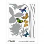 Sticker Fluturi si Plante Catalog