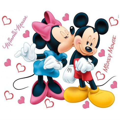 Sticker Mickey si Minnie