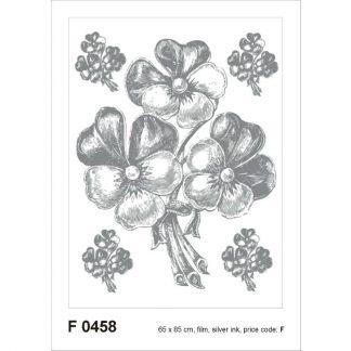 Sticker Perete flori - Buchete