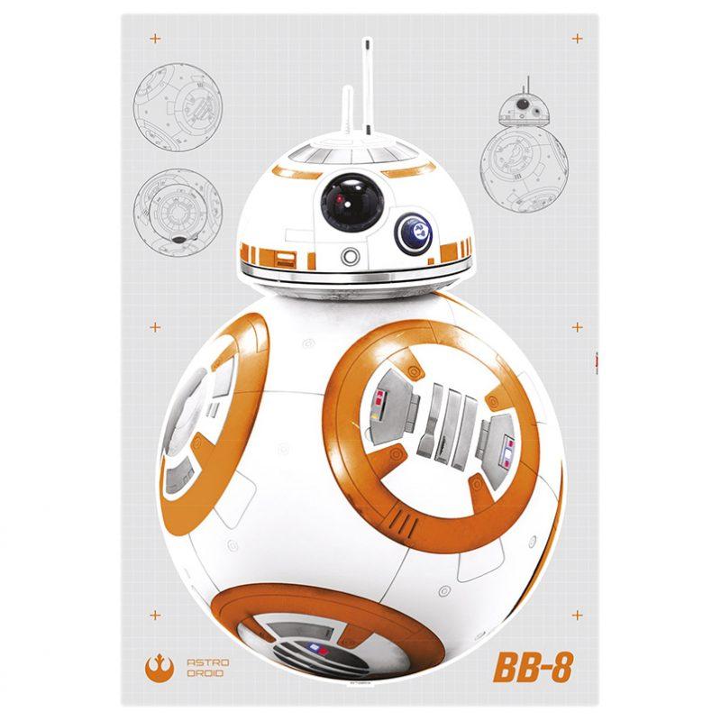 Sticker Star Wars – Druid BB-8