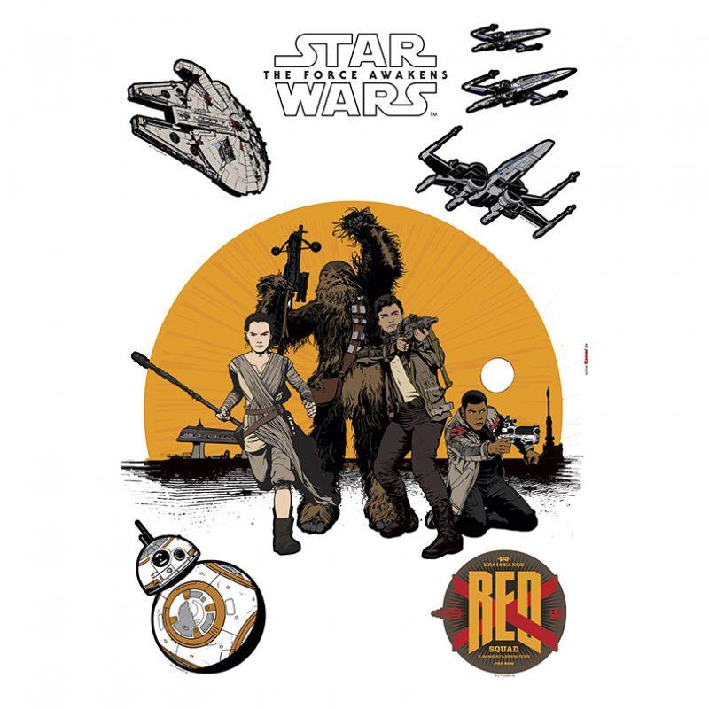 Sticker Star Wars – Rezistenta