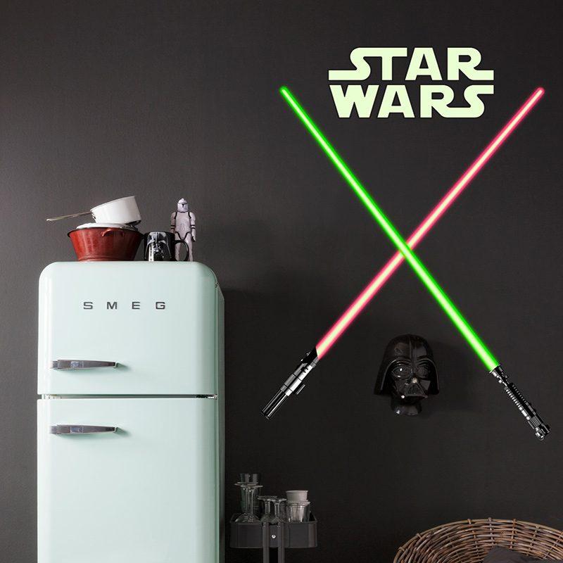 Sticker Star Wars Sabii Jedi