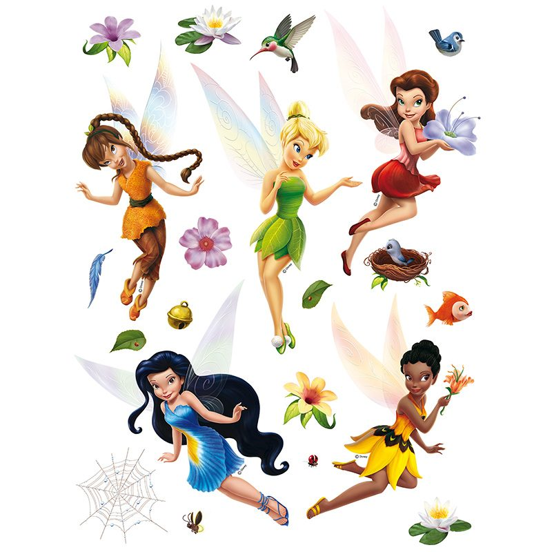 Sticker Tinker Bell Magia