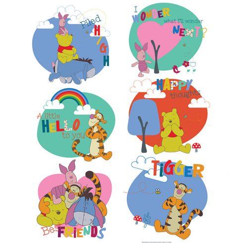 Sticker Winnie the Pooh Mesaje