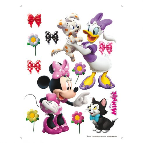 Sticker decorativ copii Minnie si Daisy