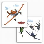 Sticker fereastra Planes 16401
