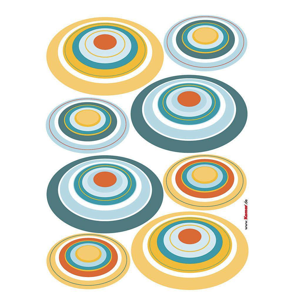 wall sticker retro circles