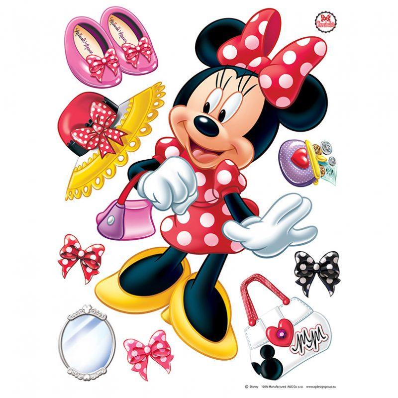 Sticker perete copii Minnie Mouse