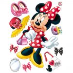 Sticker perete copii - Minnie Mouse Catalog