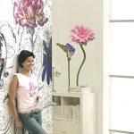 Sticker perete flori delicate 18887 Ambient 1