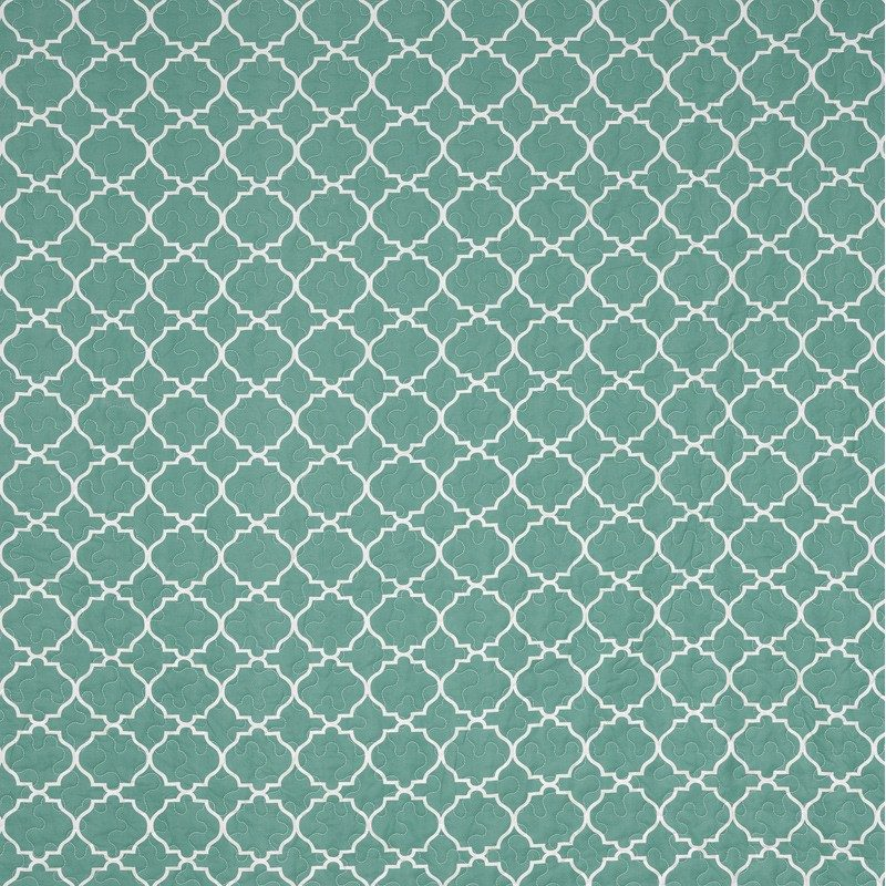 Turquoise Bedspread - Mosaique