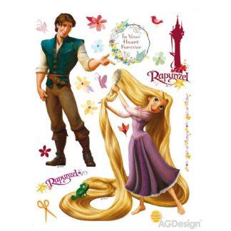 Sticker Rapunzel si Printul