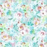 Autocolant cu flori si fluturi Shabby Chic Catalog