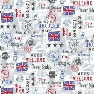 Autocolant Urban Marea Britanie Catalog