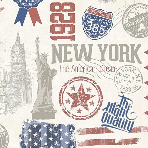 Autocolant New York 45 cm Catalog
