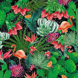 Autocolant tropical cu flamingo catalog