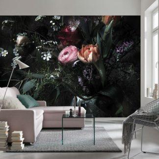 Fototapet Floral - Profunzimea Florilor Ambient