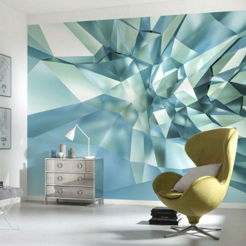 Fototapet Modern - Efect 3D de Cristal Ambient