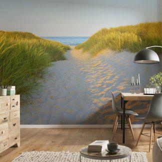 Fototapet Plaja - Alee in Apus Ambient