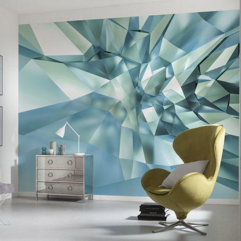 Fototapet modern – Efect 3D de Cristal
