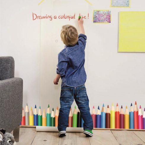 Autocolant Perete Copii - Creioane Colorate Catalog