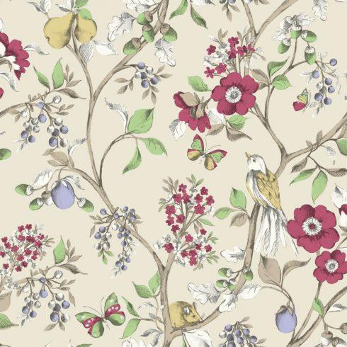 Tapet Floral Damsen Crem - Catalog