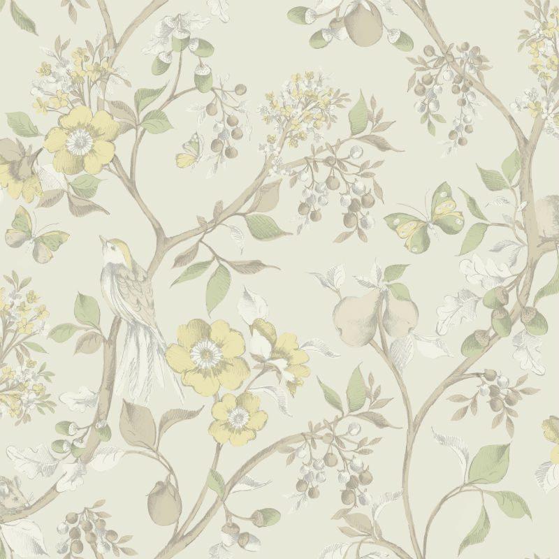 Tapet Floral Damsen Bej - Catalog