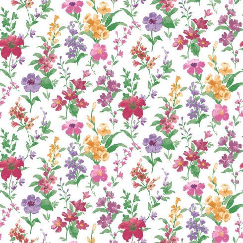 Tapet cu Flori Rosii Daphne - Catalog