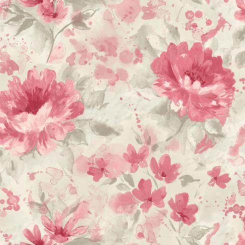 Tapet cu Flori Rosii Olina - Catalog