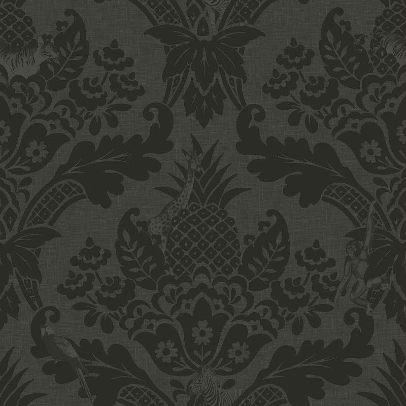 Tapet Negru Damasc Exotic Bengal - Catalog
