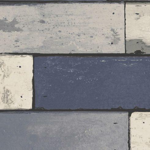 Tapet Lemn Albastru Vintage Berkeley - Holden Detaliu