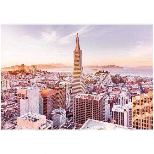 Fototapet San Francisco dimineata