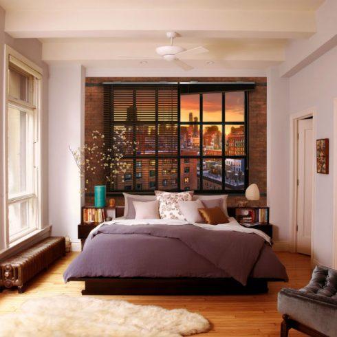 Fototapet Urban - Panorama spre New York Ambient