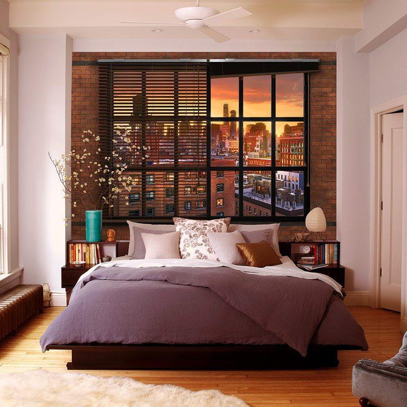 Fototapet Urban – Panorama spre New York
