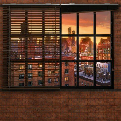 Fototapet Urban - Panorama spre New York Produs