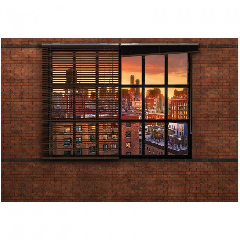Fototapet urban panorama spre New York