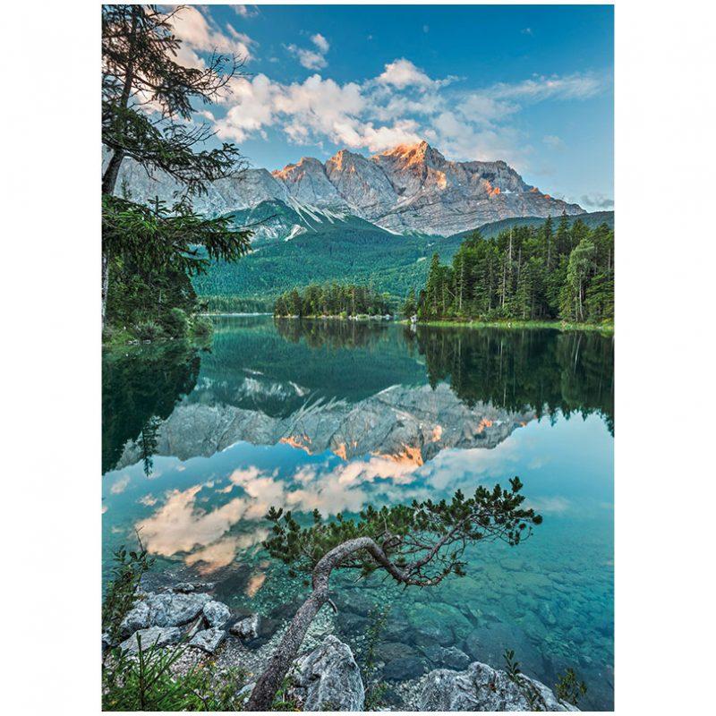 Fototapet peisaje – Oglindirea muntilor
