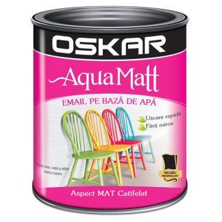 Vopsea acrilica Neagra Oskar Aqua Matt Catalog