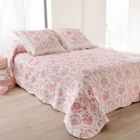 Cuvertura pat eleganta cu trandafiri stil baroc - Catalog