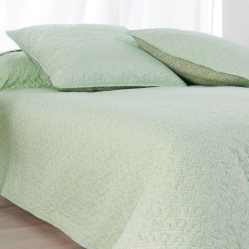 Cuvertura pat moderna verde menta Moustier Catalog