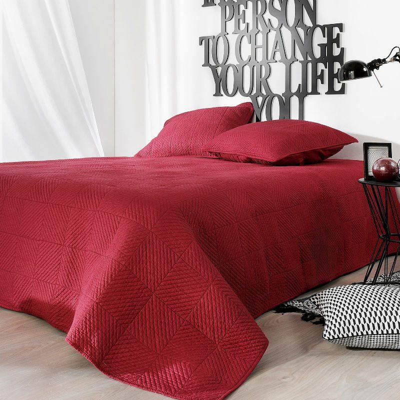 Cuvertura pat rosie din bumac Alexia Catalog
