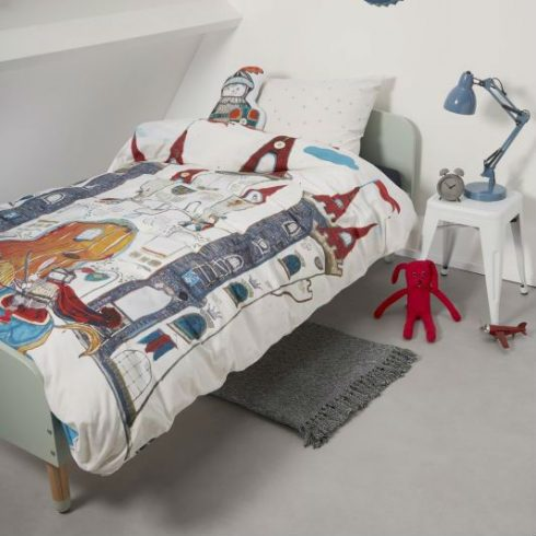 Lenjerie de pat baieti - Castelul Dragonului Catalog