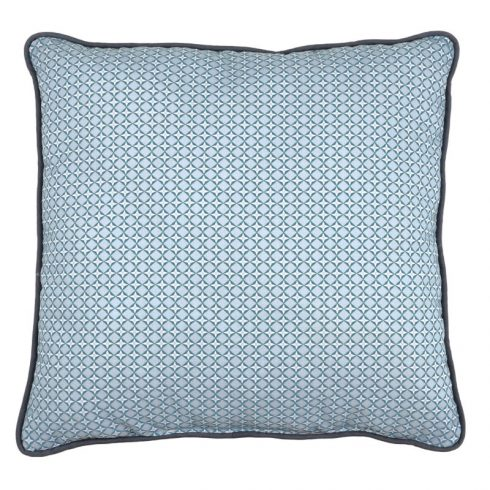 Perna Decorativa Moderna Cubist Albastru - Fata 1
