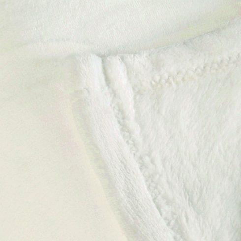 Patura pufoasa alba Cocoon Detaliu