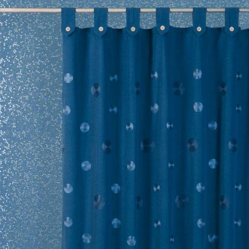 Perdea baie textil albastra Camelia Catalog