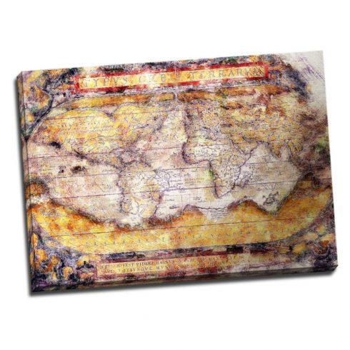 Tablou Harta Lumii Vintage Catalog