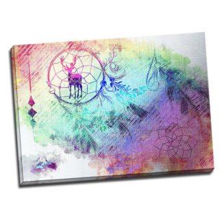 Tablou Dormitor Dream Catcher Cercul Magic Catalog