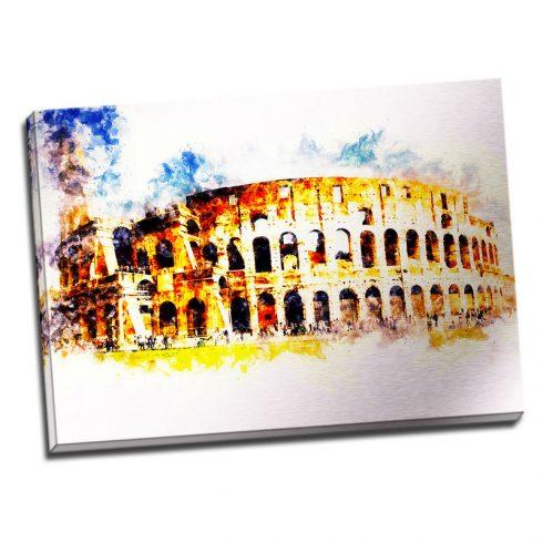 Tablou Roma - Zi insorita - Aspect zona luminata