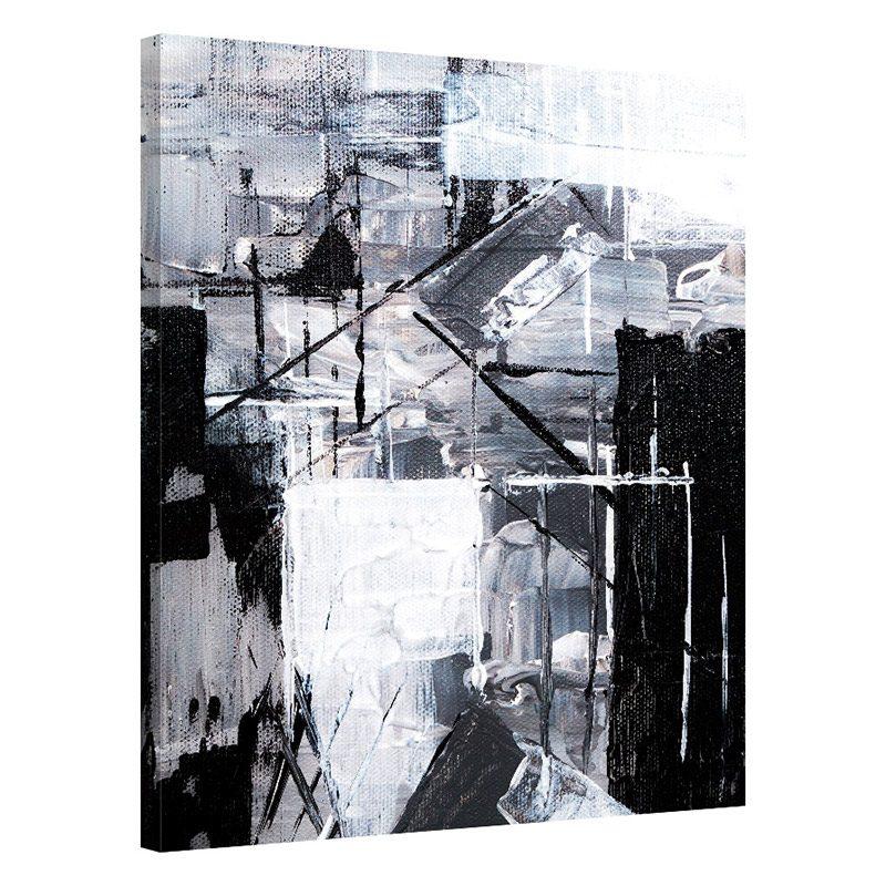 Tablou alb negru modern Identitate