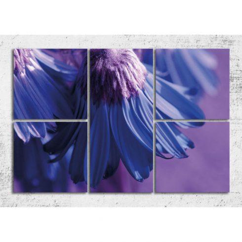 Tablou canvas 5 piese Profunzime albastra Catalog